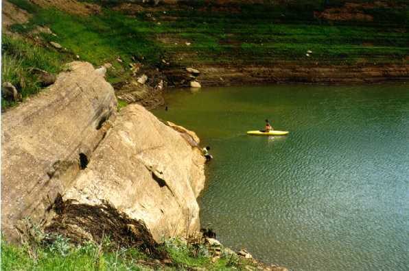 Represa de Igaratá, Jacareí - SP, 02/2000.